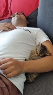 Nap time cuddles